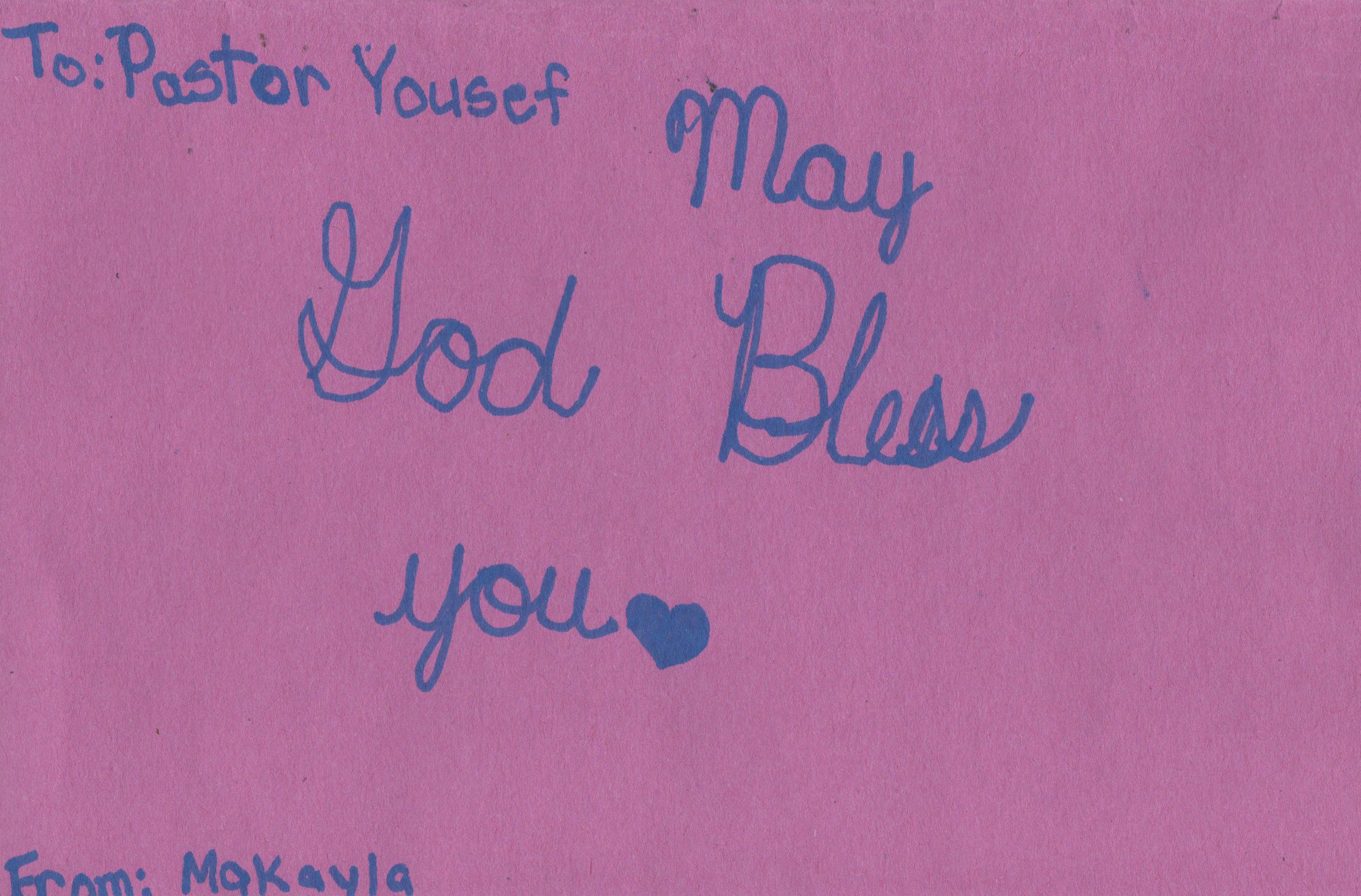 God bless Pastor Youcef Nadarkhani